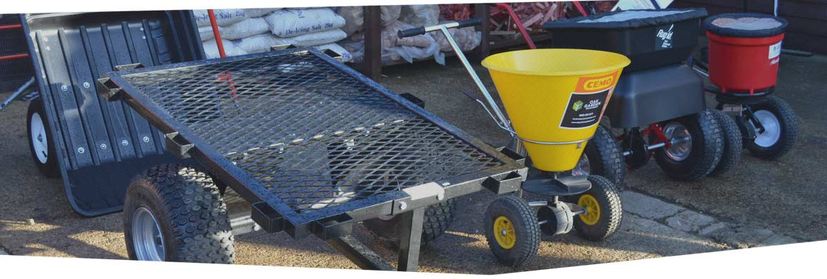 Landscaping Tools, Machinery and Accessories for hire