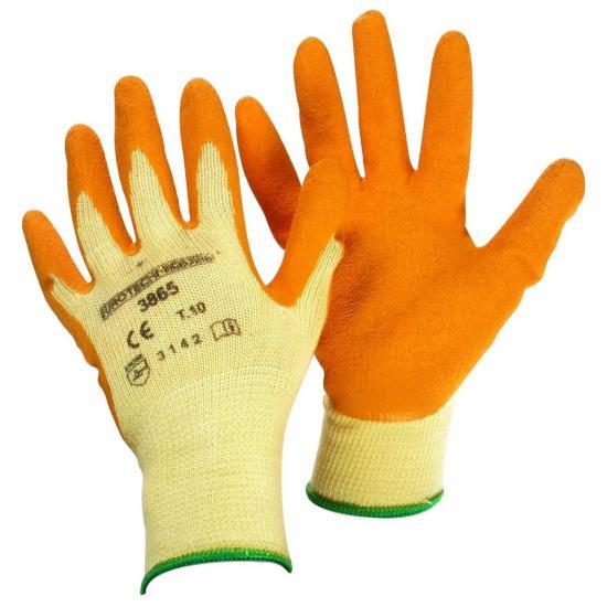 Pair rosebush gloves, Size 10 (L), latex