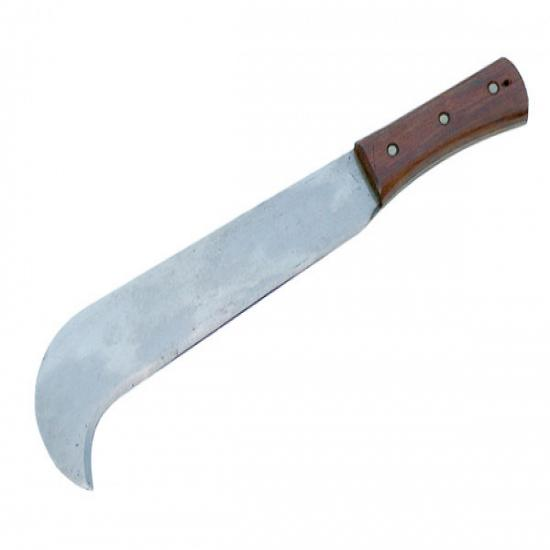 Small Bill Hook with Wooden Handle
