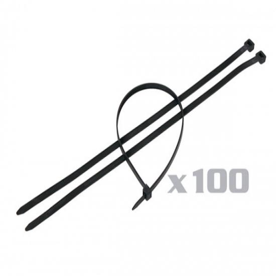Black Cable Ties - 100pc