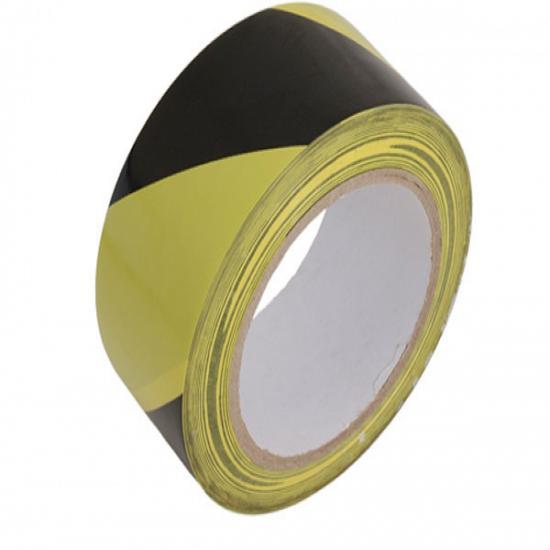 Yellow / Black Hazard Warning Tape