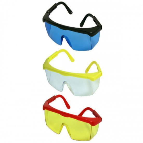 Safety Glasses three different colours - Sold Separately