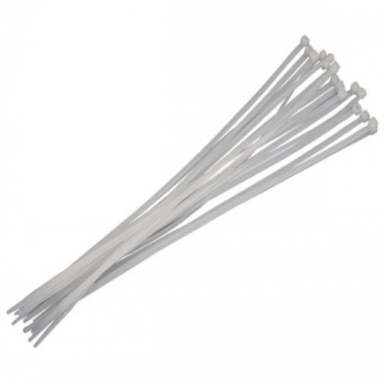 White Cable Ties - 16pc 4.8 x 360mm