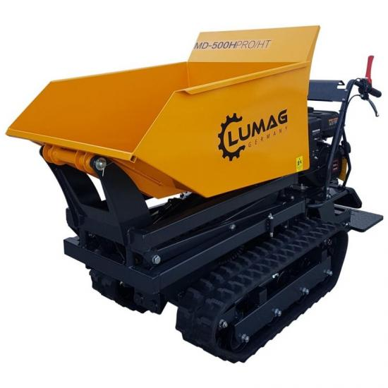 Lumag MD500H PRO HT 500kg Petrol High Tip Mini Dumper with Hydraulic Tip Body [1]