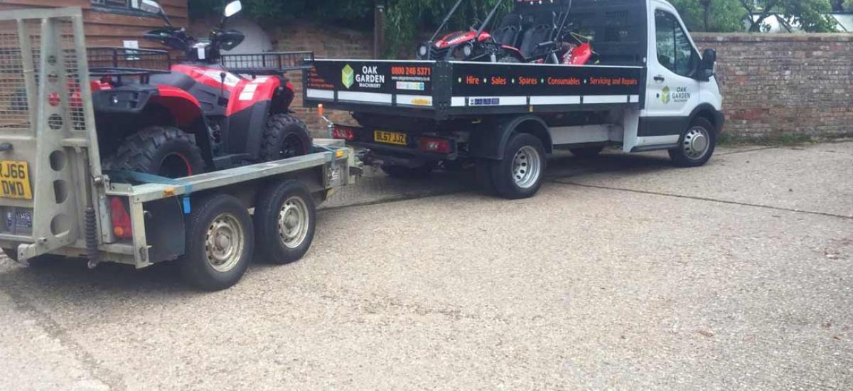 Quad Bike and Kid's ATV sold to customer in Watlington, Oxfordshire