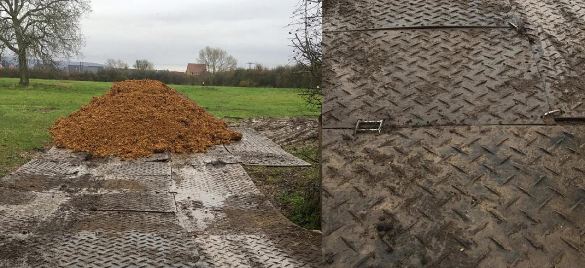 Portatrack temporary roadway hire in Aylesbury, Buckinghamshire