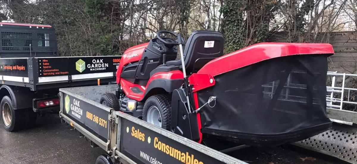 Countax C40 garden tractor delivered to customer in Tiddington, Oxfordshire