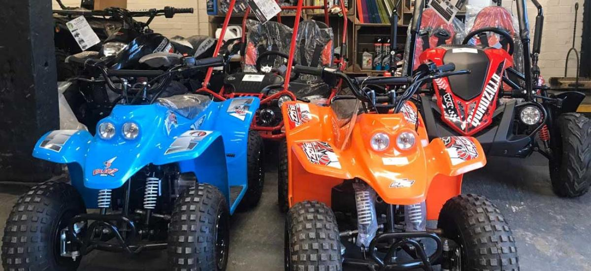 Kid's quad bikes and buggies - the perfect xmas present