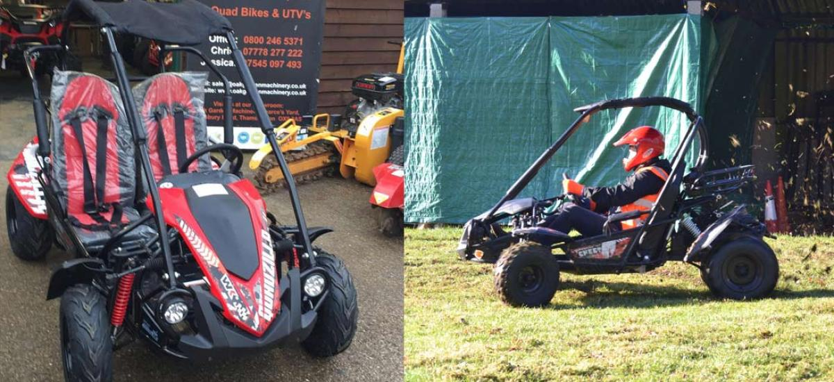 Quadzilla mid-size off road buggy sold to customer in Oxfordshire