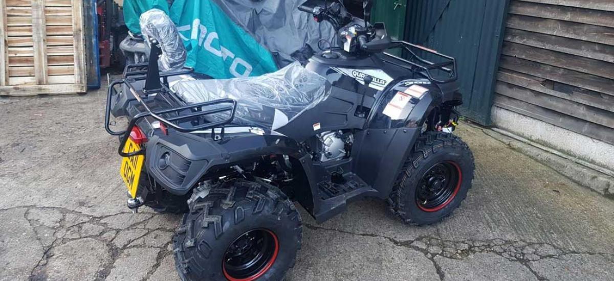 New Quadzilla Quad bike sold to customer in Swindon, Wiltshire