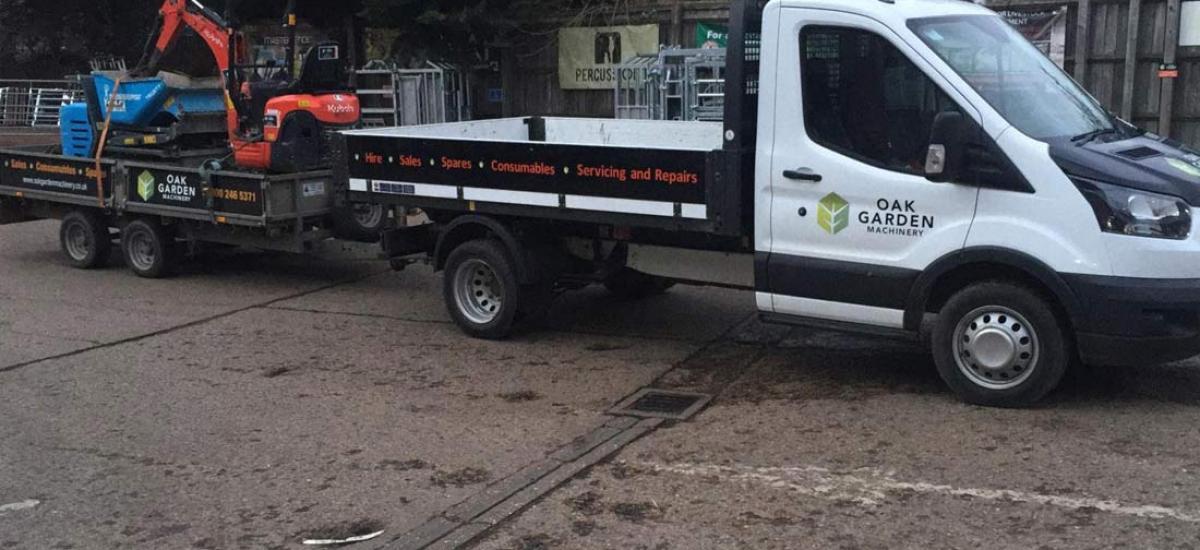 Mini Digger and Tracked Dumper hire in Flackwell Heath, Buckinghamshire