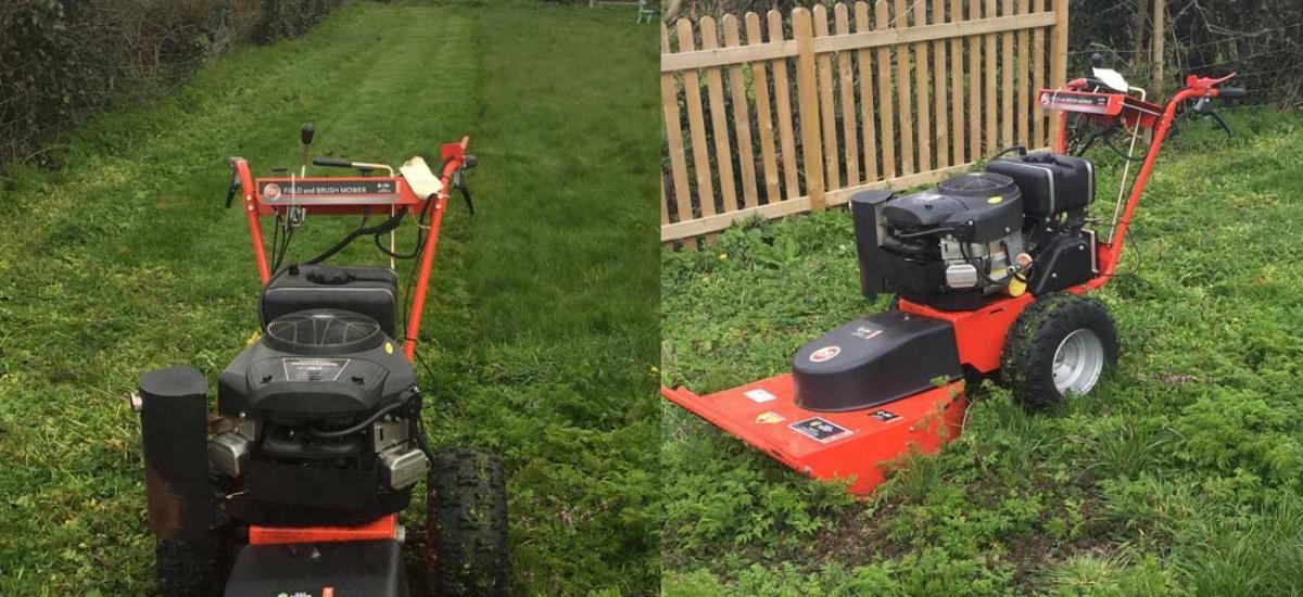 DR Brush Mower Hire for large garden in Haddenham, Buckinghamshire