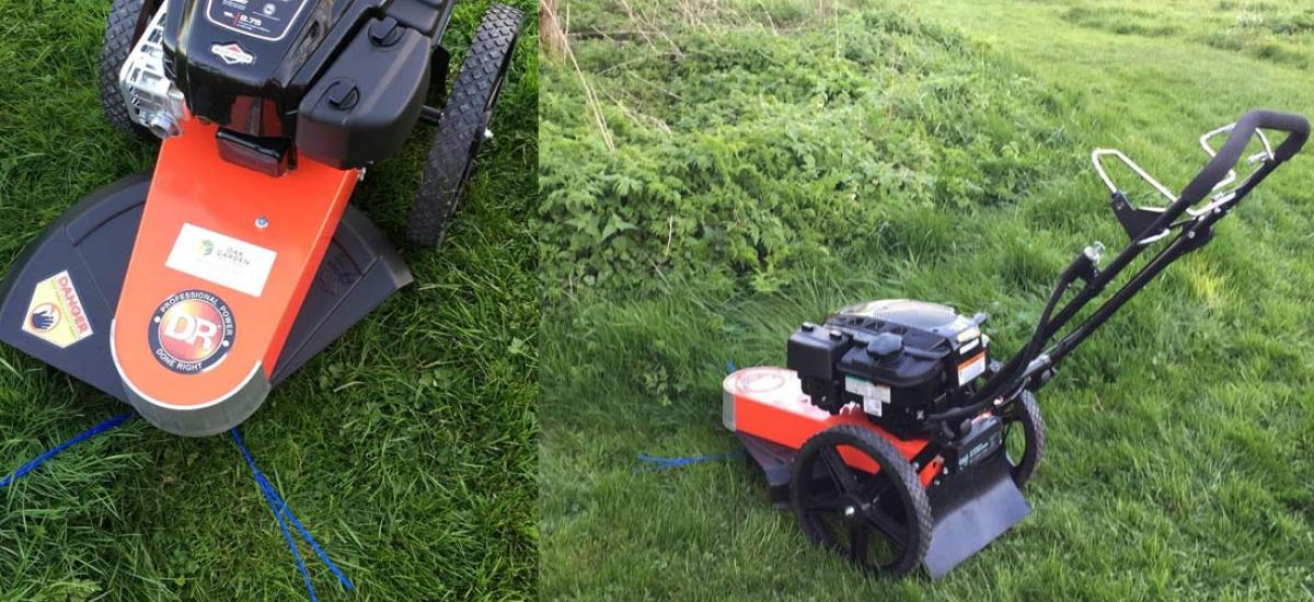 DR strimmer sold and delivered to its new home in Banbury, Oxfordshire