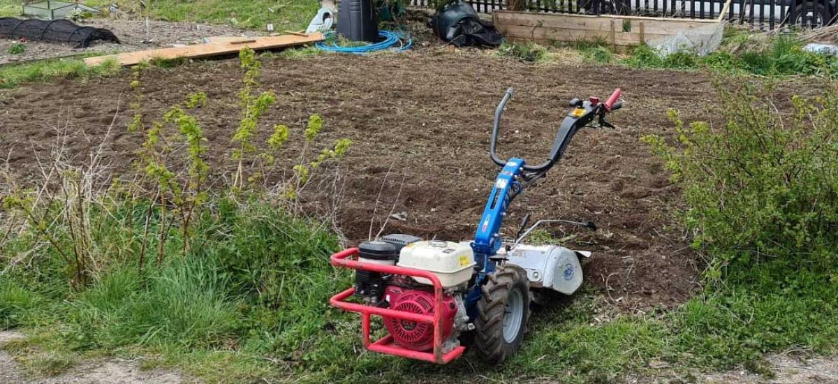 Rotavator hire for allotment in Aylesbury, Buckinghamshire