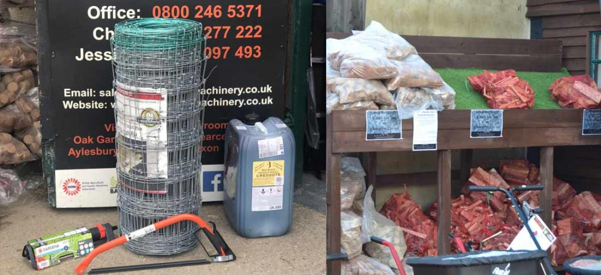 Garden, building and farming supplies at our shop in Thame, Oxfordshire