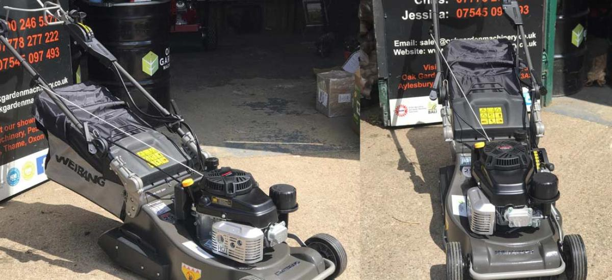 Weibang Legacy lawn mower sold to garden maintenance company in Oxfordshire
