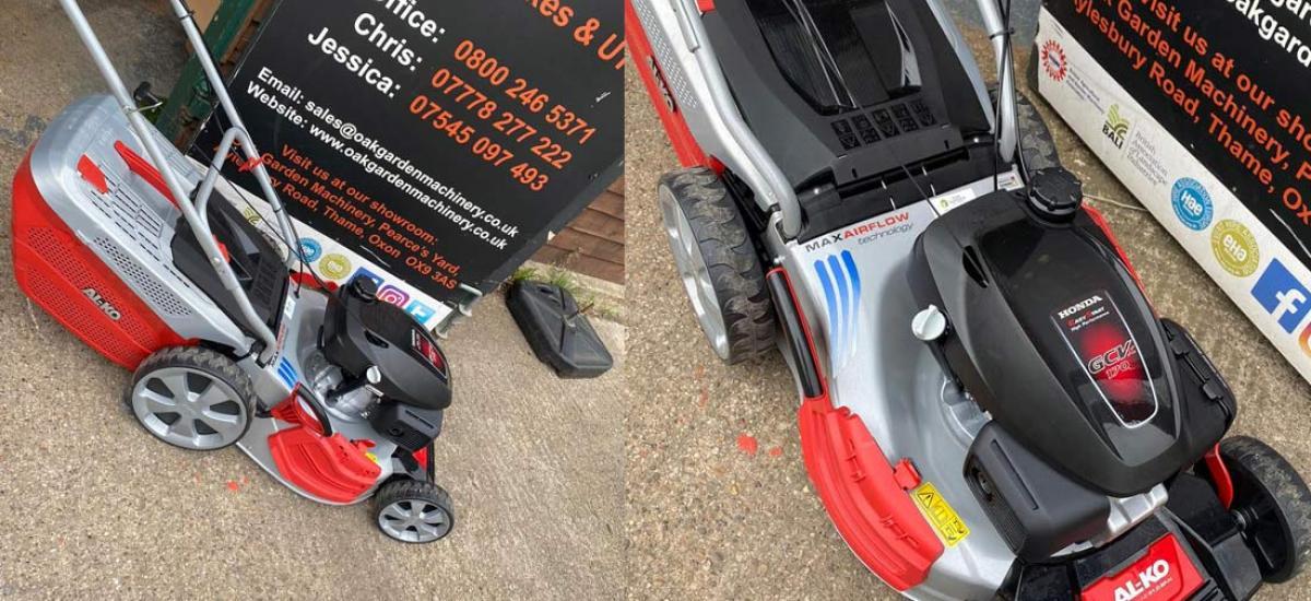 AL-KO HighLine lawnmower sold to customer in Aylesbuty, Buckinghamshire