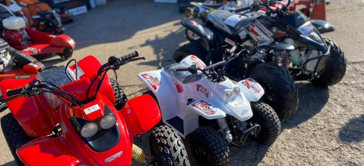 Wide selection of adult and kid's off-road buggies for sales across Oxon and Bucks
