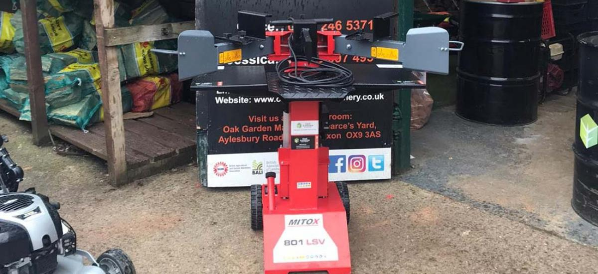 Log splitter hire and sales in Oxfordshire and Buckinghamshire