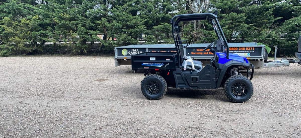 Electric side-by-side UTV sold to trading estate in Buckinghamshire