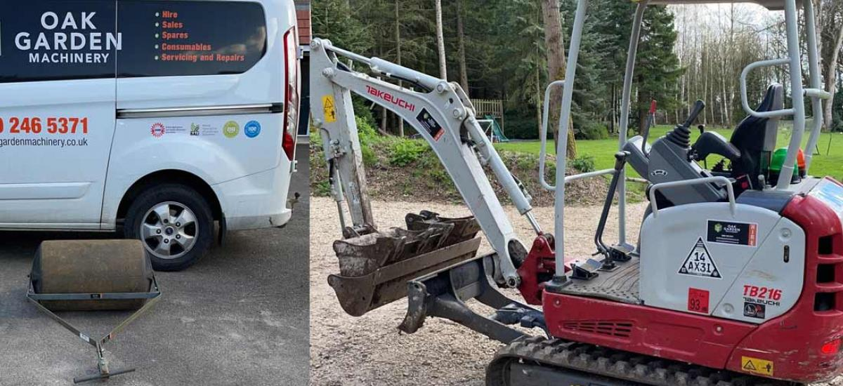 We hire the tools and machinery for all your garden and construction jobs