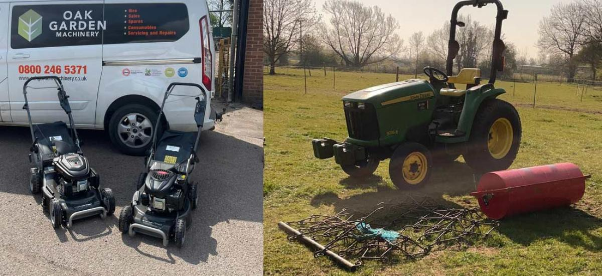 Heavy duty grass cutting machinery for hire across Oxfordshire and Buckinghamshire