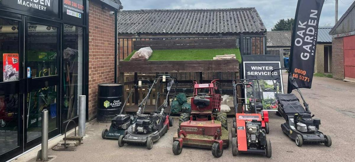 The place to come for all your lawn mower needs - servicing Oxfordshire and Buckinghamshire