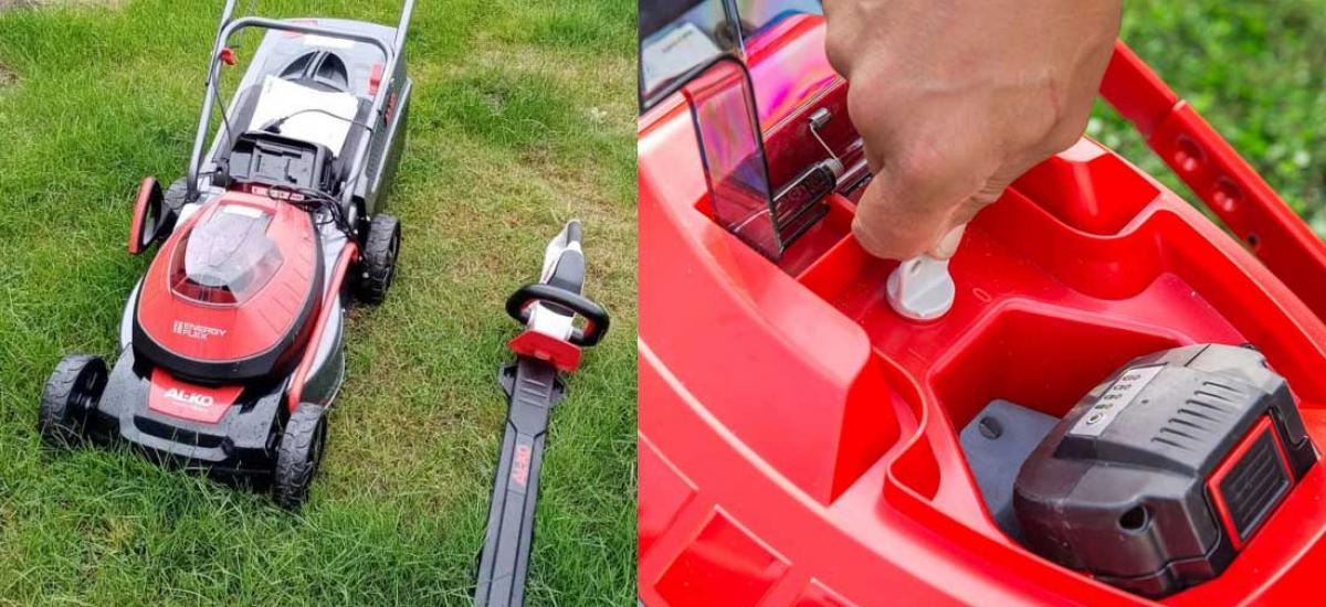 Battery powered garden machinery in stock at our Oxfordshire showroom