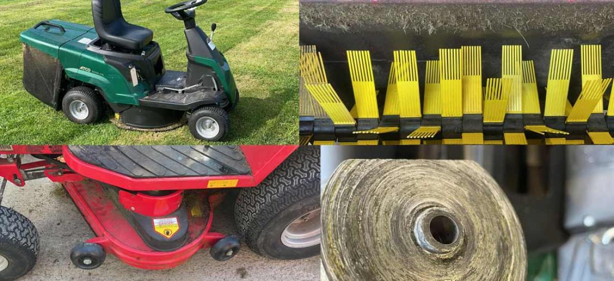 Lawn tractor servicing and repairs with collect and return