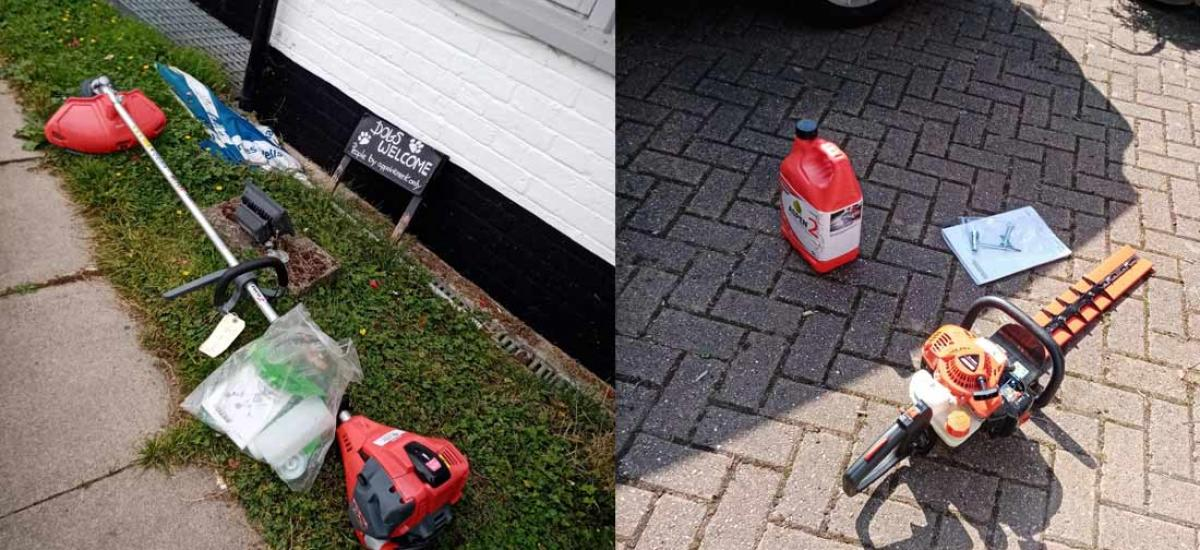 Autumn is around the corner - now is a good time to tidy grass areas and hedges