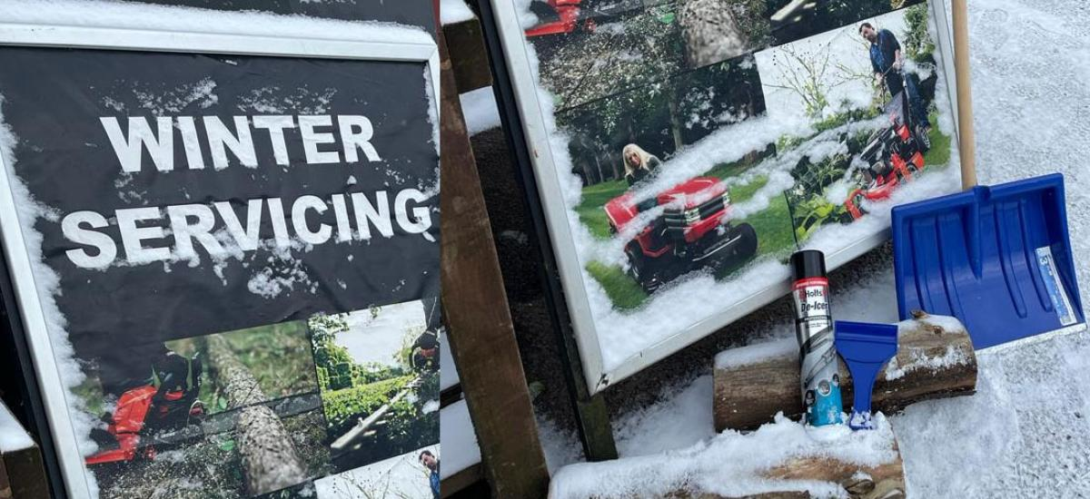 It's time to start thinking about winter servicing and supplies