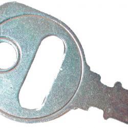 Standard key for most mowers ARIENS, SNAPPER, JACOBSEN, TORO, BOLENS, ETC.
