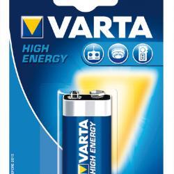 Alcaline batteries 9 V VARTA