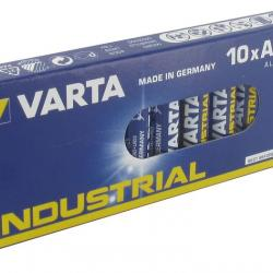 PACK 10 VARTA BATTERIES TYPE AAA