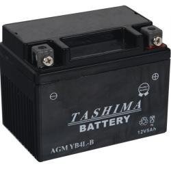 Battery 12V, 4A for scooter motorcycles+ right. (acid not included).