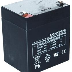 Battery for motorcycles 12V, 5,4A.