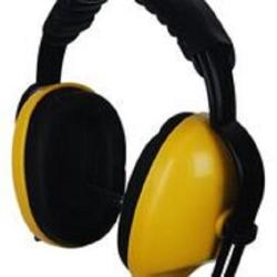 Ear protection with adjustable head band. Standard EN352-1.