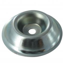 Metal cup, center hole: 10mm, ¯ 85mm.