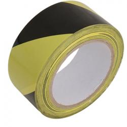 Yellow / Black Hazard Warning Tape