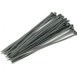 Silver Cable Ties - 30pc 4.8 x 200mm