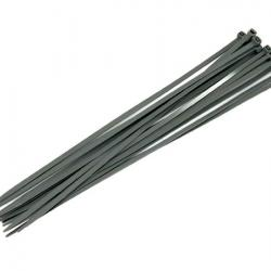 Silver Cable Ties - 16pc 4.8 x 300mm