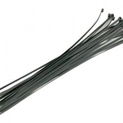 Silver Cable Ties - 16pc 4.8 x 360mm