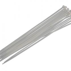 White Cable Ties - 16pc 4.8 x 300mm