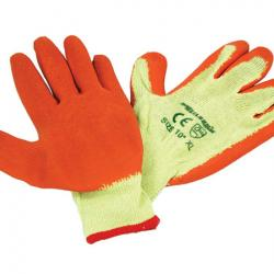 Crinkle Latex Work Gloves - 9