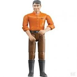 Man (brown jeans)