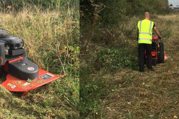 DR rotary mower hire for path clearance in Aylesbury, Buckinghamshire