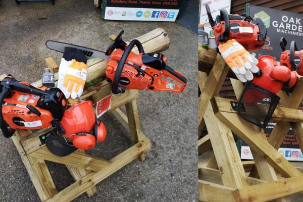 Echo chainsaws available for sale, hire and demonstration