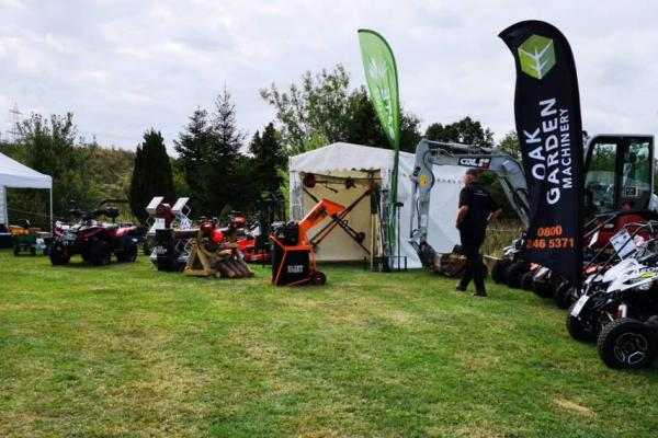 Oak Garden Machinery at the Festival of Shooting