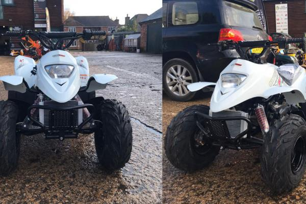 Quadzilla kid's quad bike sold to customer in Oxford for early Christmas present