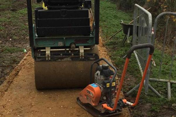 Compaction roller and wacker plate hire in Aylesbury, Bucks